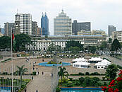 Nairobi City as seen from The Kenyatta International Conference Centre (KICC)