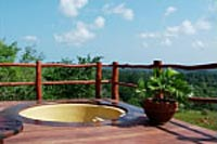 Jacuzzi at Sable Forest Tree Houses